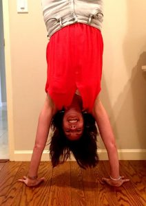 Prescription for self care handstand