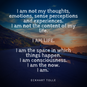 I am not my thoughts ACT 2